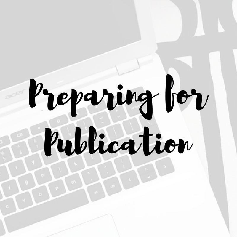preparing-for-publication